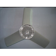 mould for plastic fan cowl
